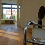 eerste etage, slaapkamer/werkkamer